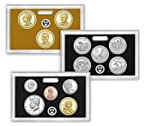 2016 S Proof Set 2016 Silver Proof Set 13 Deep Cameo Coins Complete Uncirculated
