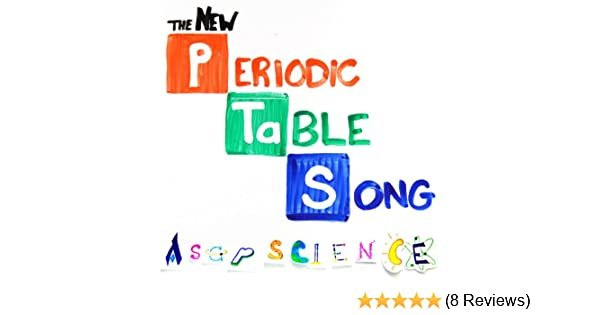 The New Periodic Table Song By Asapscience On Amazon Music Amazon