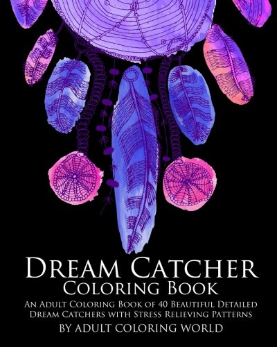 Dream Catcher Coloring Book Beautiful product image