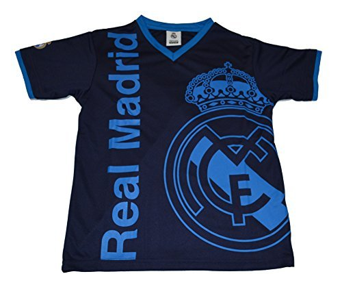 Real Madrid Fc Soccer Jersey Youth Kids Training