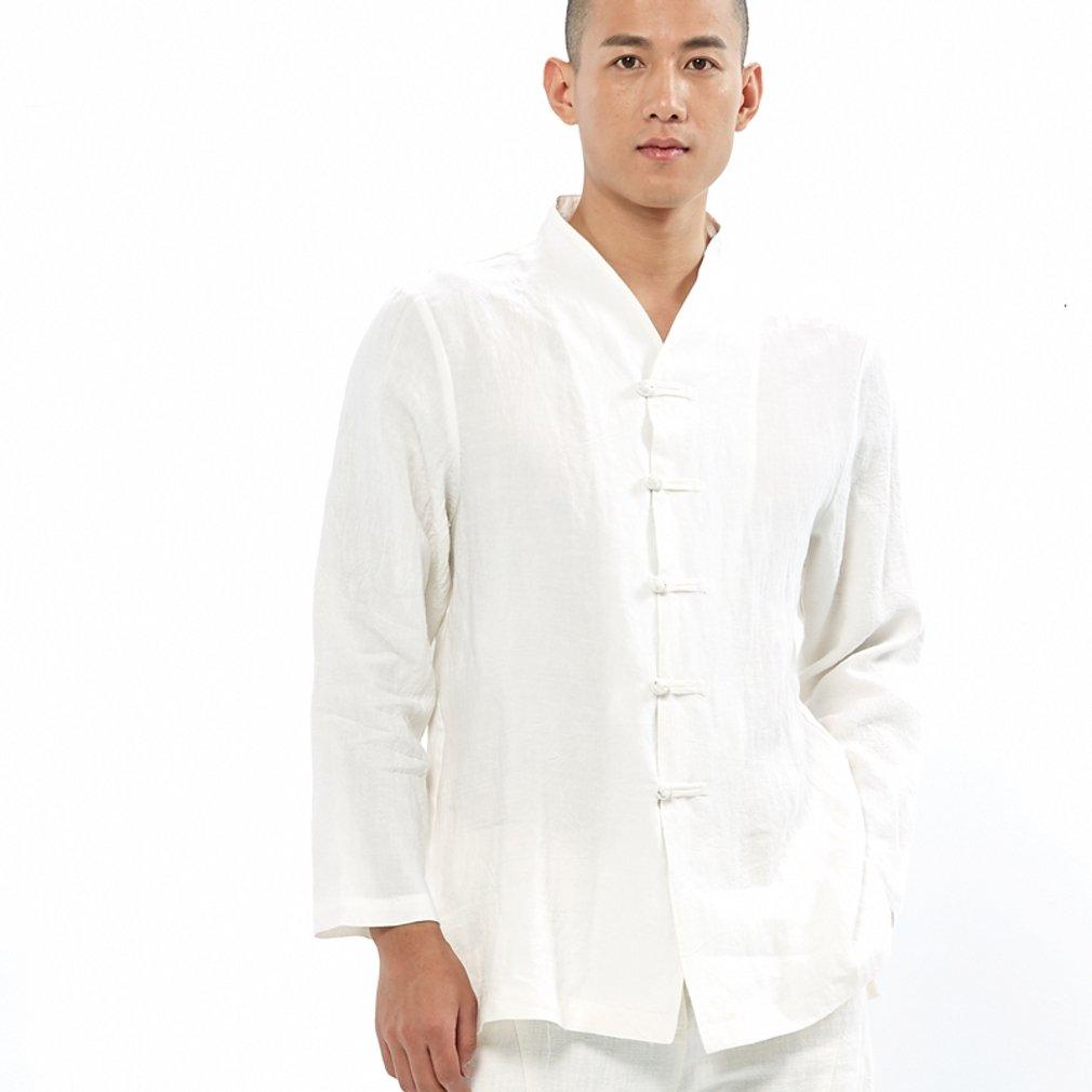 Amazon.com: ZanYing Chino Tradicional Hombre Traje Casual ...