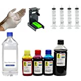 Kit Recarga Hp 650ml 662 122 901 74 60 21 22 92 93