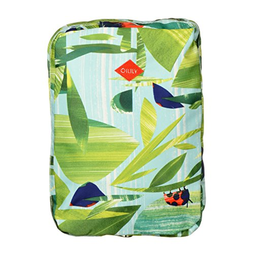 Oilily Nature Folding Casual Backpack Leaf