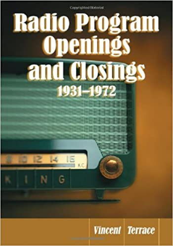 Descargar Para Utorrent Radio Program Openings And Closings, 1931-1972 Epub O Mobi
