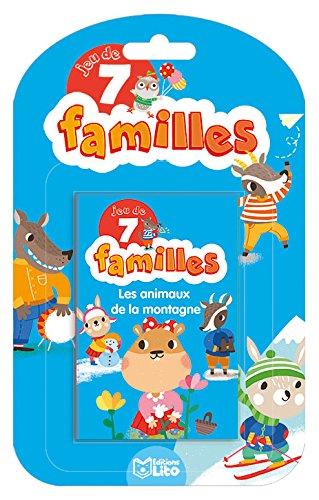 Jeux 7 Familles: Les animaux de la montagne - Dès 5 ans