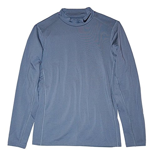NIKE Men's Training Mock Turtle Neck Shirt (Small)