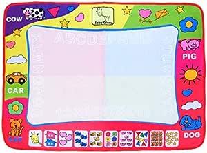 الصفحة الرئيسية أطفال أكوادودل بساط رسم لوحة - ألوان مائية للأطفال الصغار ألعاب رسم أعجوبة بالألوان بساط رسم لوح رسم للأطفال مجموعة حصائر كتابة سحرية