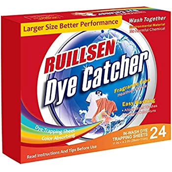 Amazon.com: Shout Color Catcher Dye-Trapping, In-Wash Cloths ...