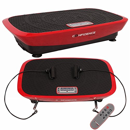 Confidence Fitness Confidence Vibeslim Vibration Trainer Red by Confidence Fitness