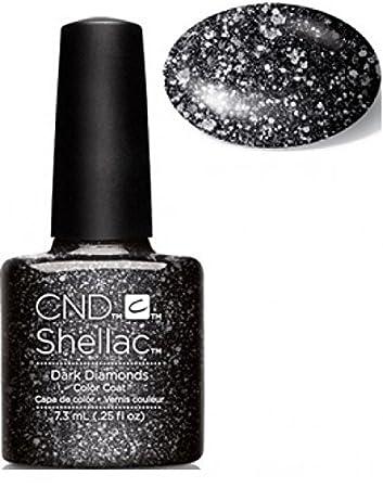 CND Shellac Nail Gel Dark Diamonds