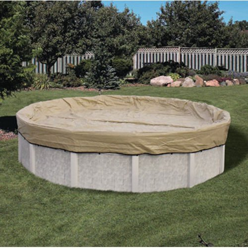 Cover Pool Oval Armorkote Winter (Hinspergers AK1530OV4 Above Ground Pool 15'x30' ArmorKote Winter Cover Oval)