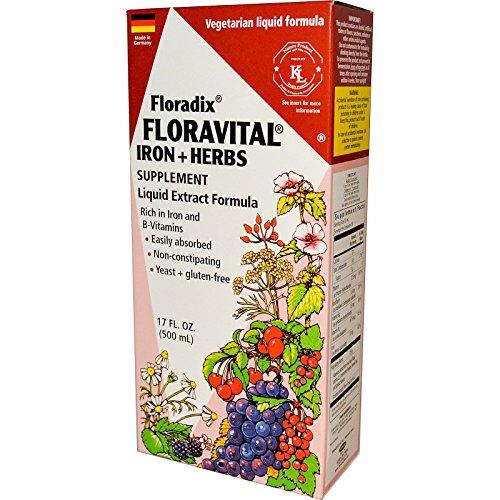 Floravital Herbs Yeast Flora Liquid product image