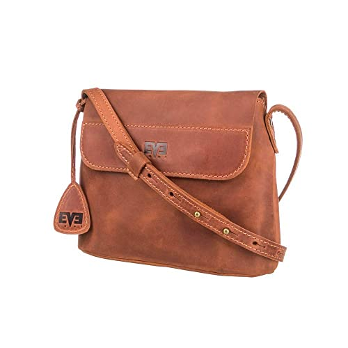 239422aaf559 Amazon.com  Handmade Leather Crossbody Bag Leather Purse Shoulder Bags  Leather Satchel Small Cosmetic Bag Gift for Women  Handmade