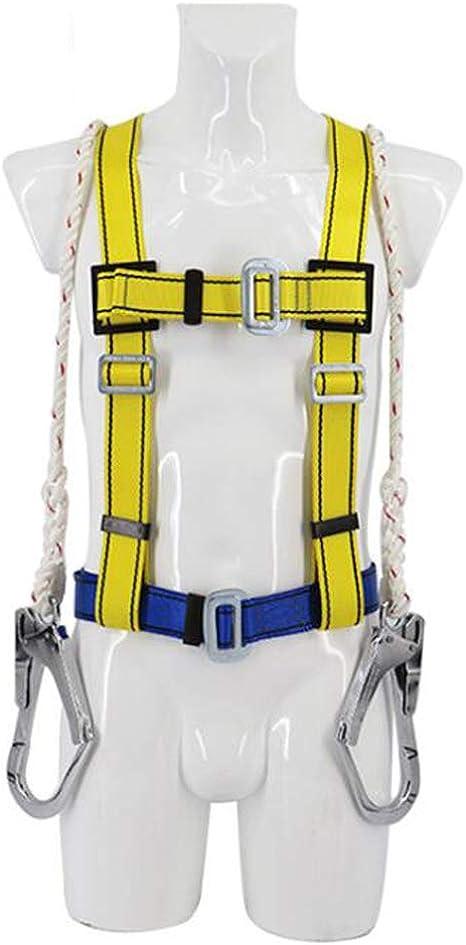 ZY Cinturón De Seguridad De Protección para Escalada, Arnés Doble ...