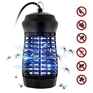 Zanzariera Elettrica, Fenvella 7W Lampada Antizanzare Elettrico Insetticida con Luce UV e Cassetto Raccogli, Alto… 1 spesavip