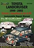 img - for Toyota Landcruiser 1990-2005 Auto Repair Manual: Petrol/Gasoline 6 cyl & V8 (Max Ellery's Vehicle Repair Manuals) book / textbook / text book