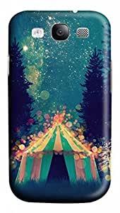 3D PC Case Cover for Samsung Galaxy S3 I9300 Custom Hard Shell Skin for Samsung Galaxy S3 I9300 With Nature Image- Fairy Tales