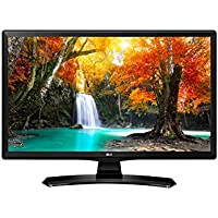 LG 24TK410V-PZ Monitor TV LED 23.6 pollici, 16:9, HD Ready,  T2 / HEVC, Nero