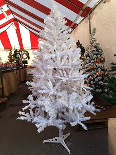 Perfect Holiday Unlit Artificial Christmas Tree, 6-Feet, Crystal White by Perfect Holiday
