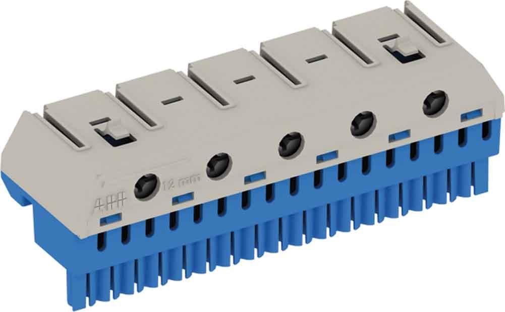 Striebel ZK206G PE-Klemmenblock 20x4qmm u.6x25qmm