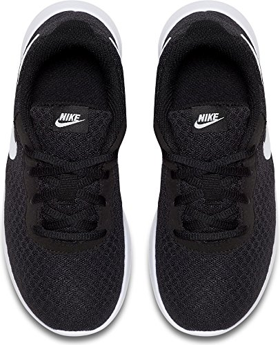 check out 7b5d2 a3a66 Galleon - NIKE Boy s Tanjun (PS) Running Shoes (1 Little Kid M, Black  White White)