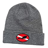 Men Women Scuba Diving Knit Beanie Snorkeling Kayaking Winter Warm Flag Hat