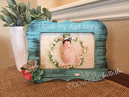 Amazon Personalized Aunt Gift Aunt Auntie Sister Picture