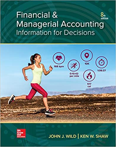 Financial and Managerial Accounting by Wild/Shaw