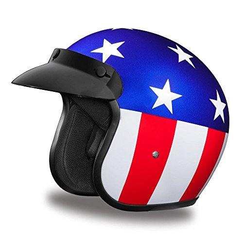 D.O.T. Daytona Cruiser- W/Captain America- Daytona Helmets