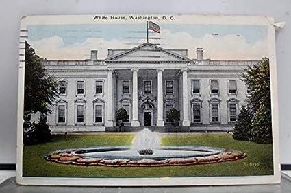 Stupendous Amazon Com 017Vint01 White House Washington D C Home Of Download Free Architecture Designs Lukepmadebymaigaardcom