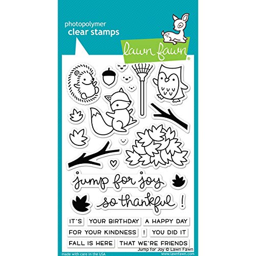 Lawn Fawn Clear Stamp Jump For