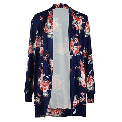 ベーリング海峡残酷注入DolCasaレディース 花柄Printedシャツ ロングシャツ長袖 ブラウス ファション