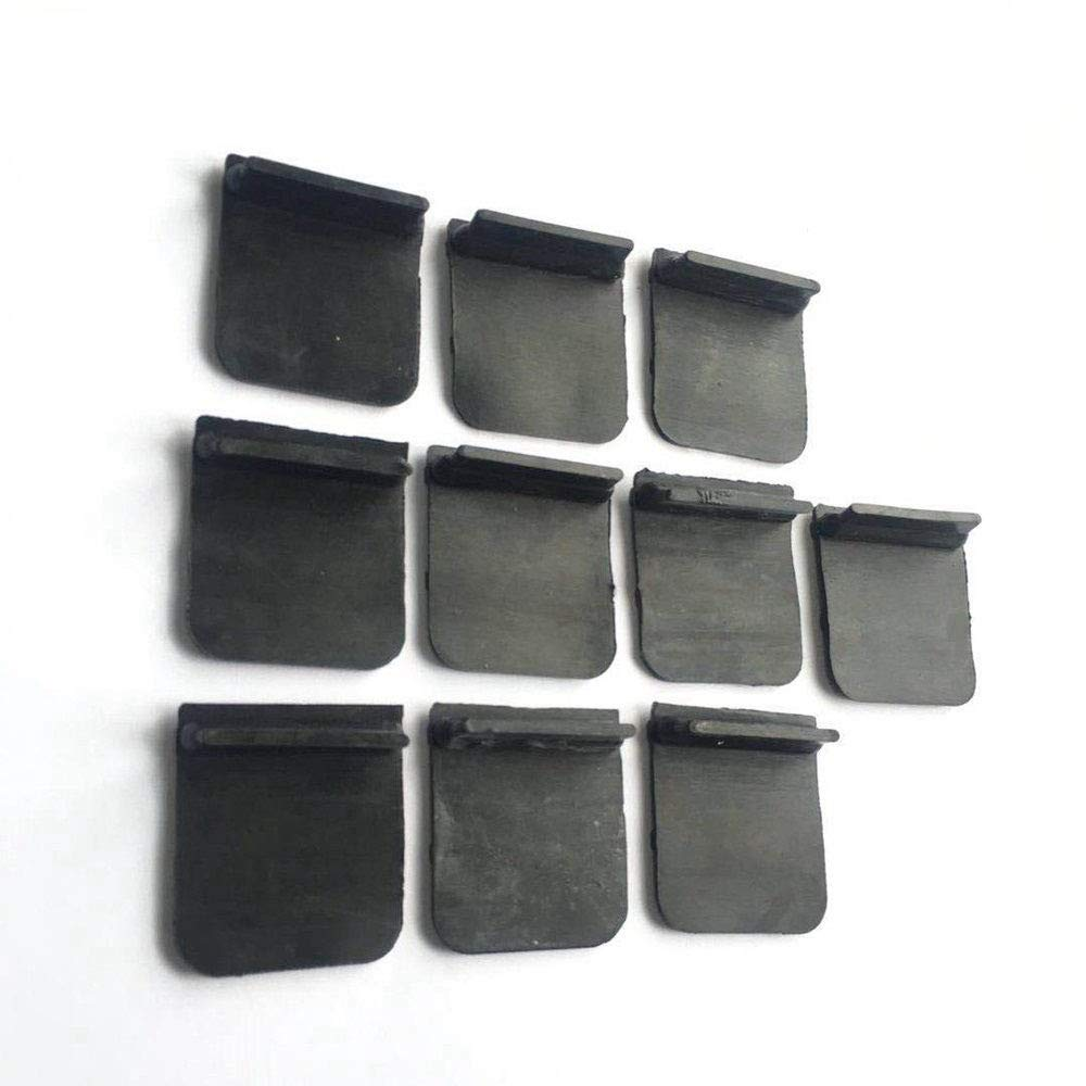 Epman Tk-cgq155 10pcs Surge Rubber Flap for Car Oil Pan Baffle Plate Bracket Rubber Valve Bolt Kit