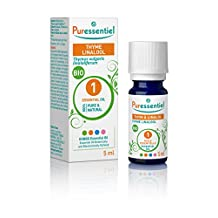 Puressentiel Thyme Linalool Organic Essential Oil, 0.17 fl. oz.