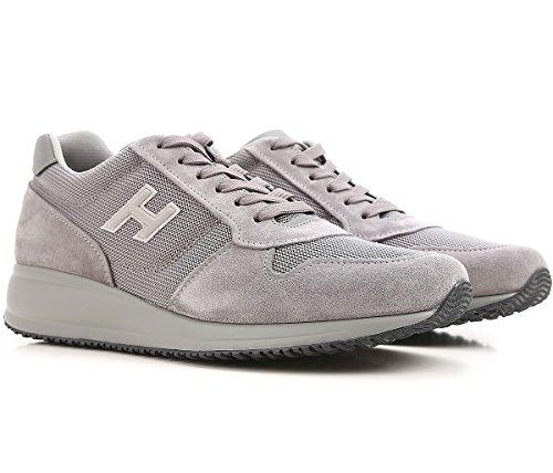 Hogan Sneakers Uomo HXM2460Y790H166Z21 Pelle Grigio