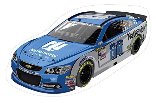 (NASCAR #88 Dale Earnhardt Jr Large Car Decal-NASCAR Peel & Stick Car Wall Decal-NEW for 2016!)