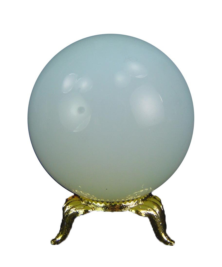 50mm Decorative Opalite Sphere with Stand