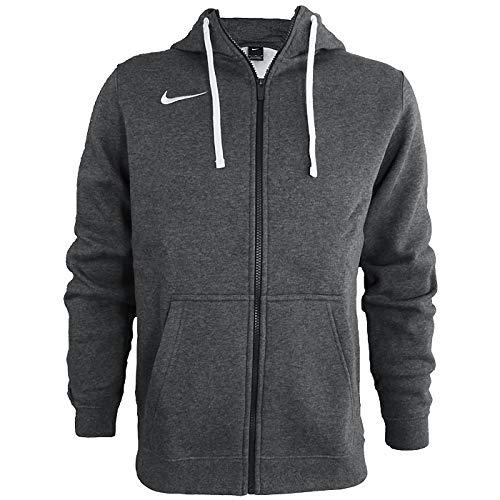 Hombre XL Charcoal Heathr//Anthracite Nike M Hoodie FZ FLC TM Club19 Sweatshirt White
