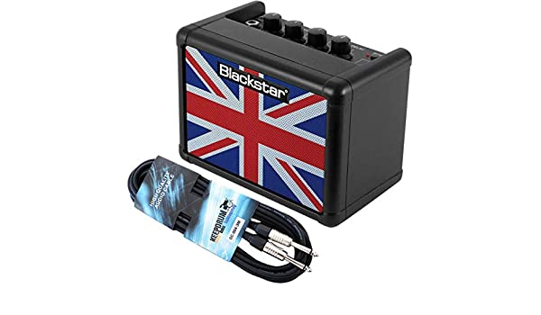 Black Star Fly 3 unión jack amplificadores de guitarra negro + Keepdrum Cable Jack 3 m: Amazon.es: Instrumentos musicales