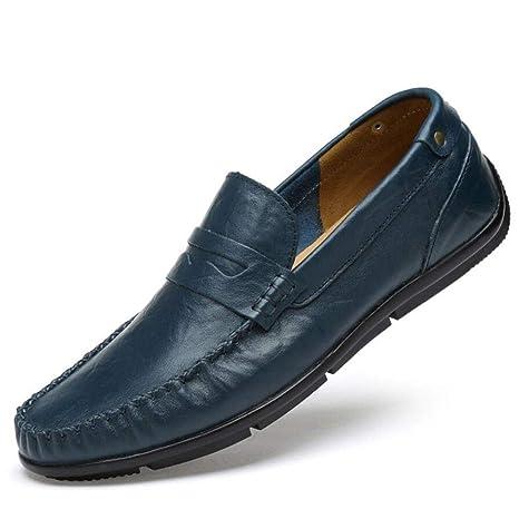 YAN Zapatos Casuales de los Hombres Mocasines de conducción Mocasines jóvenes Zapatos de Barco de Negocios