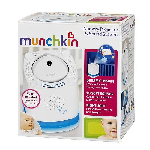 Munchkin Nursery Projector Sound System Desertcart