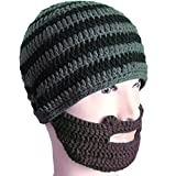 Free Fisher Unisex Knit Stubble Beard Beanie 0003