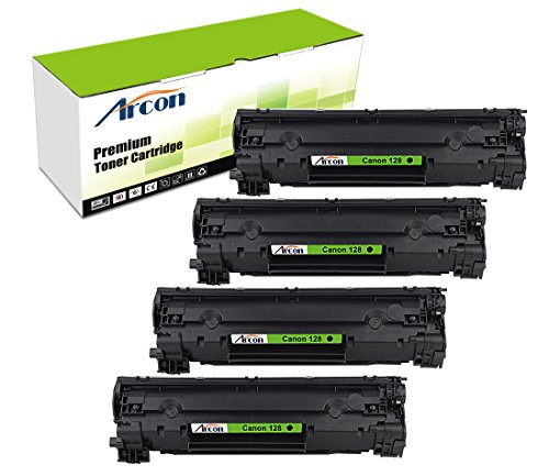 arcon-4pk-2100-pages-compatible-toner-cartridge-replacement-for-canon-128-canon-cartridge-128-126-us