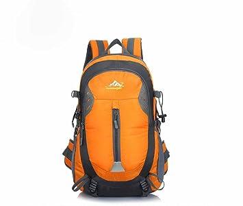 AllureFeng Deportes de ocio al aire libre profesional impermeable y resistente mochila mochilas mochilero senderismo mochila camping , orange: Amazon.es: ...
