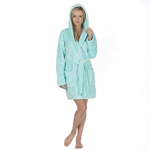 6c585875e6 Ladies Plus Size Flannel Fleece Night Gown (Sizes 2XL-4XL) Plush Luxury Robe