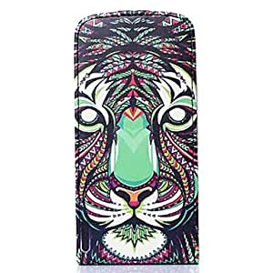 WQQ Animal Pattern PU Leather Cover with Card Slot Cover for iPhone 6