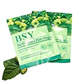 SAVE! 20x 20g. BSY NONI BLACK HAIR COLOR Organic Natural Hair Dye (Black) Covers Grey Hairs (No PPD para-phenylenediamine)