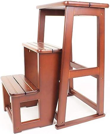 Hqqgwt Taburete Escalera Plegable portátil Simple Plegable 2/3 escalones Taburete Escalera Taburete Escalera Taburete Escalera para Cocina, A, 3 Steps: Amazon.es: Hogar