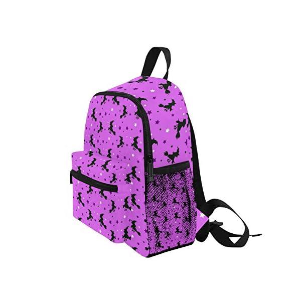 Halloween Strega Rosa Kid Zaino Scuola Bookbag Bambini Viaggio Daypack Ragazza Ragazzo 3-8 Anni Bambino Scuola… 3 spesavip