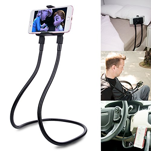 B-Land Cell Phone Holder, Universal Mobile Phone Stand, Lazy Bracket, DIY Free Rotating Mounts with Multiple Function